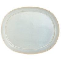 Oneida F1463051363 Studio Pottery Stratus 12 inch Porcelain Oval Platter - 12/Case