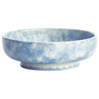 Oneida F1463060293 Studio Pottery Cloud 9 oz. Porcelain Footed Bowl / Ramekin - 24/Case