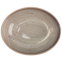 Oneida F1493015787 Terra Verde Natural 29.5 oz. Porcelain Oval Bowl - 24/Case