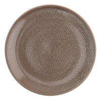Oneida F1493015155 Terra Verde Natural 11 inch Porcelain Round Plate - 18/Case