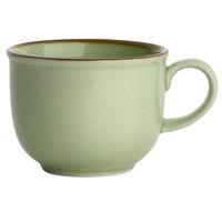 Oneida F1463067525 Studio Pottery Celadon 3.625 oz. Porcelain Espresso Cup - 24/Case