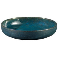 Oneida F1468994291 Studio Pottery Blue Moss 23.5 oz. Porcelain Tapas Dish - 24/Case