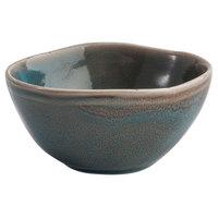 Oneida F1493020941 Terra Verde Dusk 4.25 oz. Porcelain Sauce Dish / Bowl - 72/Case