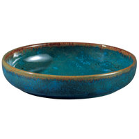Oneida F1468994283 Studio Pottery Blue Moss 16 oz. Porcelain Tapas Dish - 24/Case
