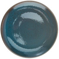 Oneida F1493020150 Terra Verde Dusk 10 1/4 inch Porcelain Round Coupe Plate - 12/Case