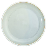 Oneida F1463051282 Studio Pottery Stratus 10 5/8 inch Porcelain Round Deep Plate - 12/Case