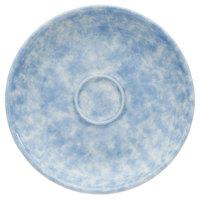 Oneida F1463060505 Studio Pottery Cloud 4 7/8 inch Porcelain Espresso Saucer - 24/Case