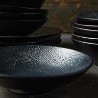 Oneida L6550000750 Leather 25 oz. Porcelain Pedestal Bowl - 24/Case