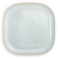 Oneida F1463051001 Studio Pottery Stratus 9 7/8 inch Square Porcelain Plate - 12/Case