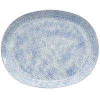 Oneida F1463060363 Studio Pottery Cloud 12 inch Porcelain Oval Platter - 12/Case