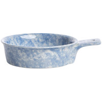 Oneida F1463060108 Studio Pottery Cloud 12 oz. Porcelain Single-Handled Tapas Dish - 24/Case