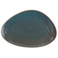 Oneida F1493020314 Terra Verde Dusk 14 inch Porcelain Serving Platter - 6/Case