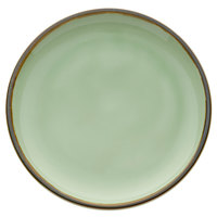 Oneida F1463067132 Studio Pottery Celadon 8 1/2 inch Porcelain Round Plate - 24/Case