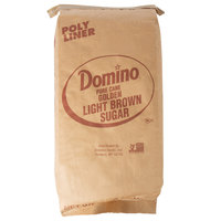 Domino 25 lb. Light Brown Sugar