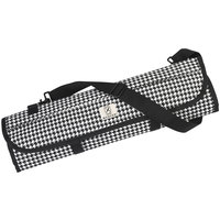 Mercer Culinary M30007HT Houndstooth 8 Pocket Knife Roll