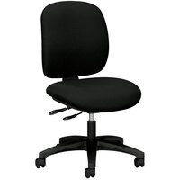 Hon 5903CU10T ComforTask Black Multi-Task Chair with Casters