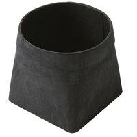 American Metalcraft PWB5 5 inch Square Black Poplar Wood Basket