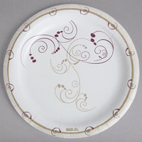 Solo HP9S-J8001 Symphony 9 inch Heavy Weight Paper Plate - 125/Pack