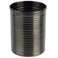 American Metalcraft SCBM 12 oz. Black Stainless Steel Soup Can