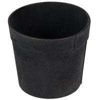 American Metalcraft PWBB5 5 inch Round Black Poplar Wood Basket