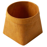 American Metalcraft PW4 4 1/8 inch Square Natural Poplar Wood Basket