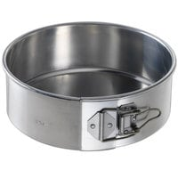 Chicago Metallic 40408 8 inch Aluminum Springform Customizable Cake Pan
