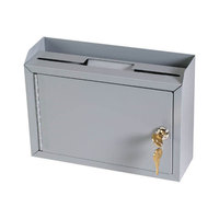MMF Industries 22258DBGY Steelmaster Multipurpose Drop Box with Lock
