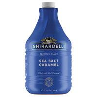 Ghirardelli 64 fl. oz. Sea Salt Caramel Flavoring Sauce