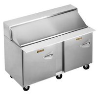 Traulsen UPT6012-LL 60 inch Sandwich / Salad Prep Refrigerator with Two Left Hinged Doors