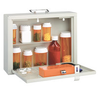 MMF Industries 201906206 Med-Master Premium Steel Medication Case with RFID Lock