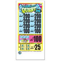 Diamond Quest Joe 5 Window Pull Tab Tickets - 2520 Tickets per Deal - Total Payout: $2000