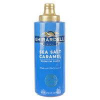 Ghirardelli 17 oz. Sea Salt Caramel Flavoring Sauce