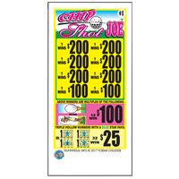 Chip Shot Joe 5 Window Pull Tab Tickets - 2520 Tickets per Deal - Total Payout: $2000