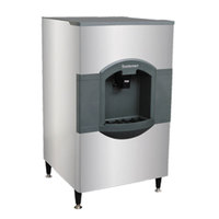 Scotsman HD30B-1H 30 inch Wide Hotel Ice Dispenser 180 lb. Capacity 120V
