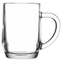 Libbey 5724 10 oz. Glass Coffee Mug - 36/Case