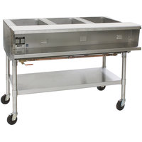 Eagle Group SPHT4 Portable Steam Table - Four Pan - Sealed Well, 240V