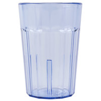 Cambro NT5401 Newport 6.4 oz. Slate Blue Customizable Plastic Tumbler - 36/Case
