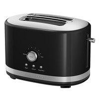 KitchenAid KMT2116OB Onyx Black 2 Slice Toaster with High Lift Lever - 120V