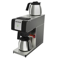 Fetco CBS-2121-P C212101 Stainless Steel Pourover Coffee Maker - 120V