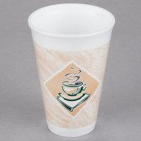 Dart 16X16G ThermoGlaze 16 oz. Cafe G Espresso Foam Cup - 1000/Case