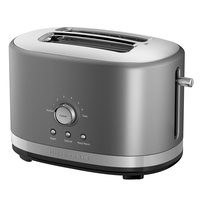 KitchenAid KMT2116CU Contour Silver 2 Slice Toaster with High Lift Lever - 120V