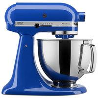 KitchenAid KSM150PSTB Artisan Series Twilight Blue 5 Qt. Tilt Head Countertop Mixer - 120V