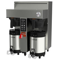 Fetco CBS-1132V+ E113251 Extractor V+ Series Stainless Steel Twin Automatic Coffee Brewer - 240V