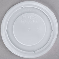 Dinex DX33008714 Translucent Disposable Turnbury Bowl Lid - 1000/Case