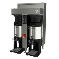 Fetco CBS-1152V+ E115251 Extractor V+ Series Stainless Steel Twin Automatic Coffee Brewer - 208-240V