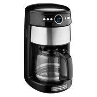 KitchenAid KCM1402OB Onyx Black 14 Cup Automatic Coffee Maker - 120V
