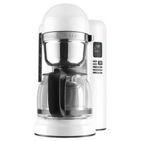 KitchenAid KCM1204WH White 12 Cup One Touch Coffee Maker - 120V