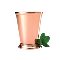 Mercer Culinary M37032CP 12 oz. Copper Plated Julep Cup