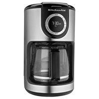 KitchenAid KCM1202OB Onyx Black 12 Cup Automatic Coffee Maker - 120V