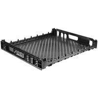 Orbis NPL620B 26 inch x 22 inch x 3 1/2 inch Black Single Bun Bakery Tray / Bread Rack